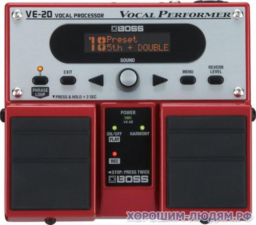 ПРОДАМ Boss VE-20 Vocal Performer Multi-Effects Pedal